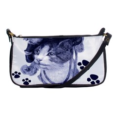 Miss Kitty blues Evening Bag