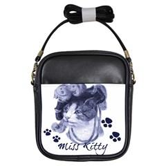 Miss Kitty blues Girl s Sling Bag