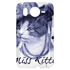 Miss Kitty blues HTC Desire HD Hardshell Case