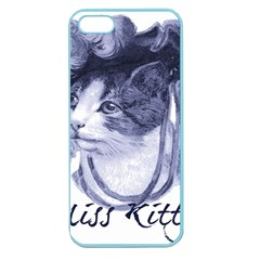 Miss Kitty Blues Apple Seamless Iphone 5 Case (color)
