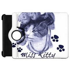 Miss Kitty Blues Kindle Fire Hd 7  (1st Gen) Flip 360 Case