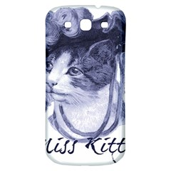 Miss Kitty Blues Samsung Galaxy S3 S Iii Classic Hardshell Back Case