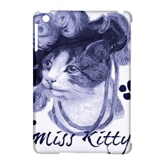 Miss Kitty Blues Apple Ipad Mini Hardshell Case (compatible With Smart Cover)