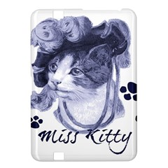 Miss Kitty blues Kindle Fire HD 8.9  Hardshell Case
