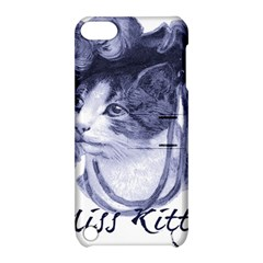 Miss Kitty blues Apple iPod Touch 5 Hardshell Case with Stand