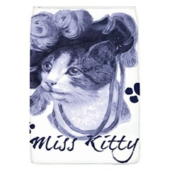 Miss Kitty blues Removable Flap Cover (Large)