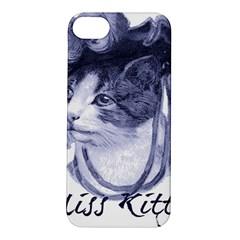 Miss Kitty blues Apple iPhone 5S Hardshell Case