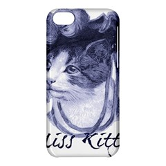 Miss Kitty blues Apple iPhone 5C Hardshell Case