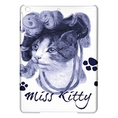 Miss Kitty blues Apple iPad Air Hardshell Case