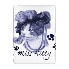 Miss Kitty blues Samsung Galaxy Note 10.1 (P600) Hardshell Case