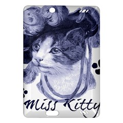 Miss Kitty blues Kindle Fire HD 7  (2nd Gen) Hardshell Case