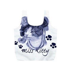 Miss Kitty Blues Reusable Bag (s)