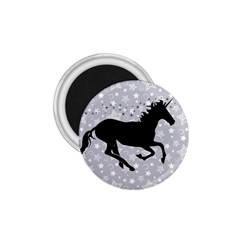 Unicorn on Starry Background 1.75  Button Magnet