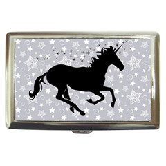 Unicorn On Starry Background Cigarette Money Case
