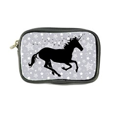Unicorn On Starry Background Coin Purse