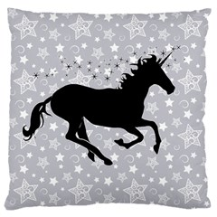 Unicorn on Starry Background Large Cushion Case (Single Sided)