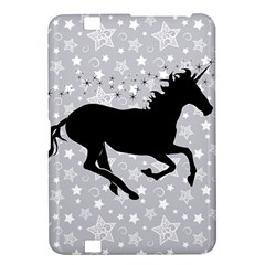 Unicorn on Starry Background Kindle Fire HD 8.9  Hardshell Case