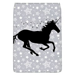 Unicorn on Starry Background Removable Flap Cover (Large)