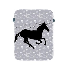 Unicorn on Starry Background Apple iPad Protective Sleeve