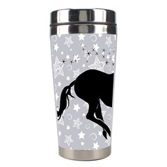 Unicorn on Starry Background Stainless Steel Travel Tumbler