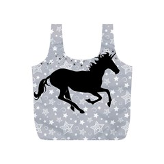 Unicorn On Starry Background Reusable Bag (s)
