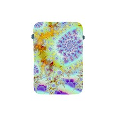 Golden Violet Sea Shells, Abstract Ocean Apple iPad Mini Protective Sleeve