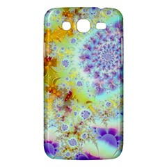 Golden Violet Sea Shells, Abstract Ocean Samsung Galaxy Mega 5.8 I9152 Hardshell Case