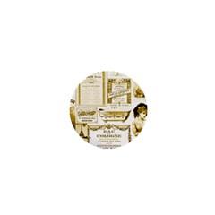 Parisgoldentower 1  Mini Button