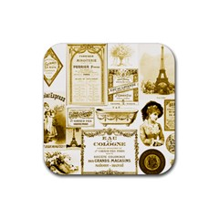 Parisgoldentower Drink Coaster (square)