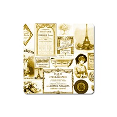 Parisgoldentower Magnet (Square)