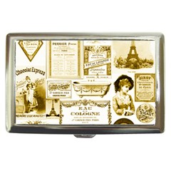 Parisgoldentower Cigarette Money Case