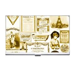 Parisgoldentower Business Card Holder