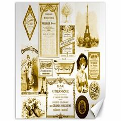 Parisgoldentower Canvas 18  x 24  (Unframed)