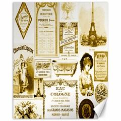 Parisgoldentower Canvas 11  x 14  (Unframed)
