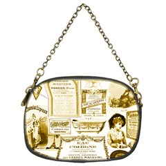 Parisgoldentower Chain Purse (One Side)