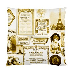 Parisgoldentower Cushion Case (Two Sided)