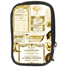 Parisgoldentower Compact Camera Leather Case