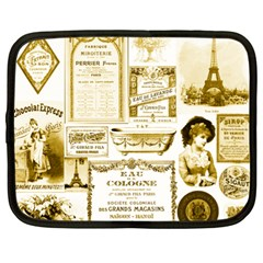 Parisgoldentower Netbook Sleeve (xl)