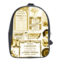 Parisgoldentower School Bag (Large)