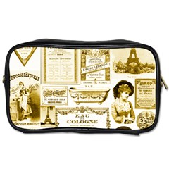 Parisgoldentower Travel Toiletry Bag (one Side)