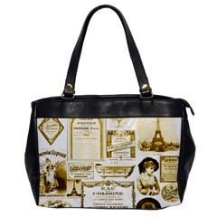 Parisgoldentower Oversize Office Handbag (One Side)
