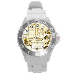 Parisgoldentower Plastic Sport Watch (Large)