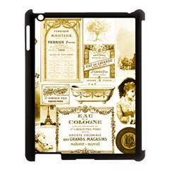 Parisgoldentower Apple iPad 3/4 Case (Black)