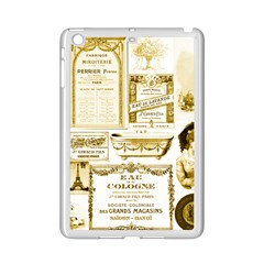 Parisgoldentower Apple iPad Mini 2 Case (White)