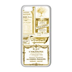 Parisgoldentower Apple iPhone 5C Seamless Case (White)