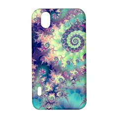 Violet Teal Sea Shells, Abstract Underwater Forest LG Optimus P970 Hardshell Case