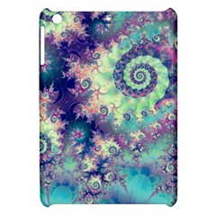 Violet Teal Sea Shells, Abstract Underwater Forest Apple Ipad Mini Hardshell Case