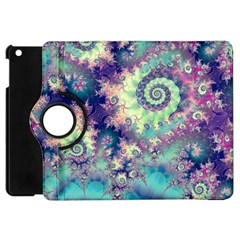 Violet Teal Sea Shells, Abstract Underwater Forest Apple Ipad Mini Flip 360 Case