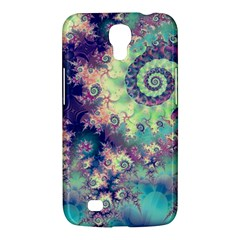 Violet Teal Sea Shells, Abstract Underwater Forest Samsung Galaxy Mega 6 3  I9200 Hardshell Case