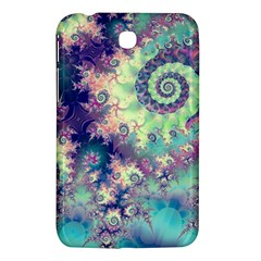 Violet Teal Sea Shells, Abstract Underwater Forest Samsung Galaxy Tab 3 (7 ) P3200 Hardshell Case